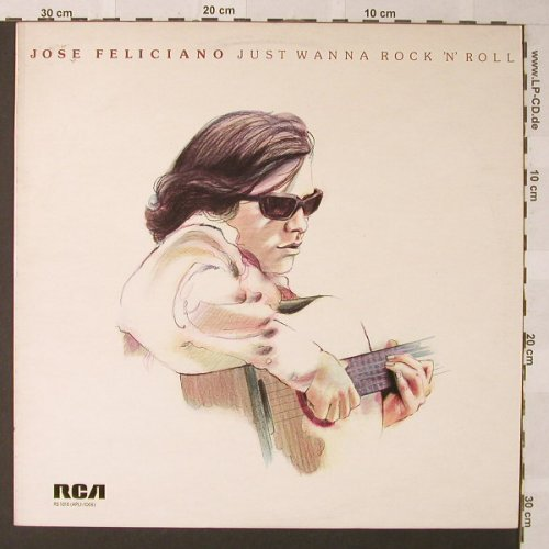 Feliciano,Jose: Just Wanna Rock'n'Roll, RCAorange(RS 1016), UK, 1975 - LP - F293 - 5,00 Euro