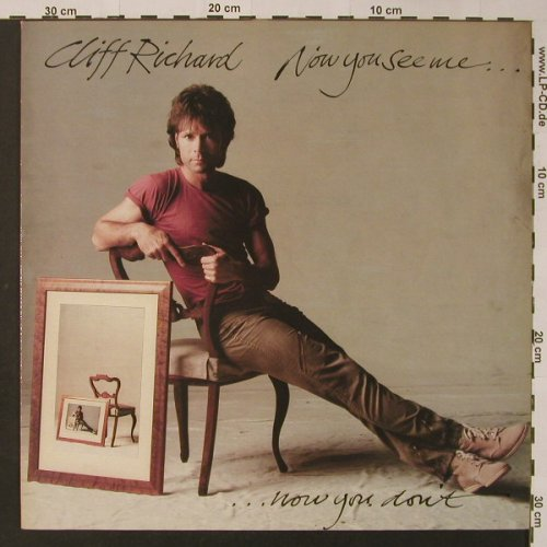 Richard,Cliff: Now You See Me...Now You Don't, EMI(064-07652), NL, 1982 - LP - F3307 - 5,00 Euro