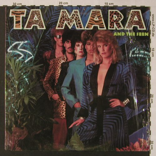 Ta Mara & The Seen: Same, AM(SP-6-5078), US, 1985 - LP - F3334 - 6,00 Euro