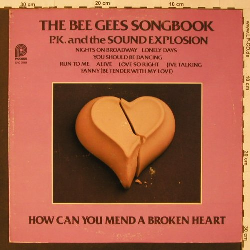 P.K. and the Sound Explosion: The Bee Gees Songbook, vg+/vg+, Pickwick(SPC-3569), CDN, 1977 - LP - F3502 - 4,00 Euro