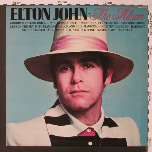 John,Elton: The Album, Pickwick(SHM 3088), UK, 1981 - LP - F3516 - 5,00 Euro