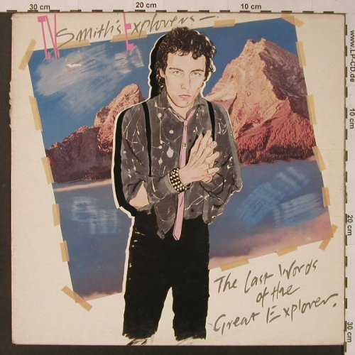 "T.V.Smith Explorers: The Last Words of t.Great Explorer, Kaleidoskop Rec.(KRL 85087), UK,m-/vg--, 1981 - LP+7"" - F3587 - 10,00 Euro"