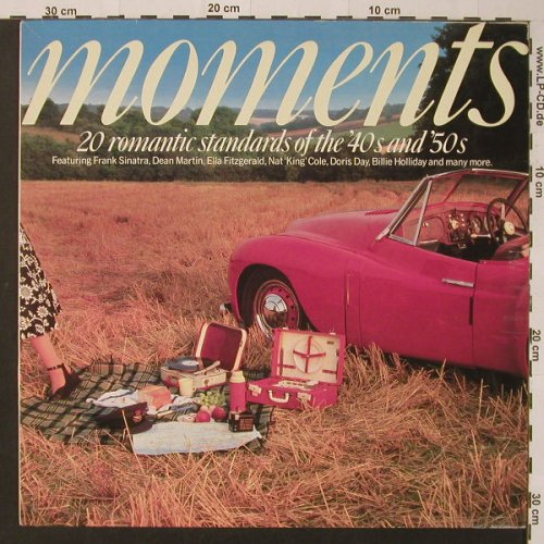 V.A.Moments: Doris Day...Andy Williams,40's,50's, Telstar(STAR 2342), IRE, 1988 - LP - F3676 - 5,00 Euro