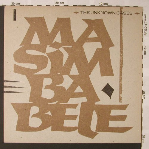 Unknown Cases: Masimbabele+1, Facts, RoughTrade(OC 04 T), D, 1983 - 12inch - F372 - 7,50 Euro