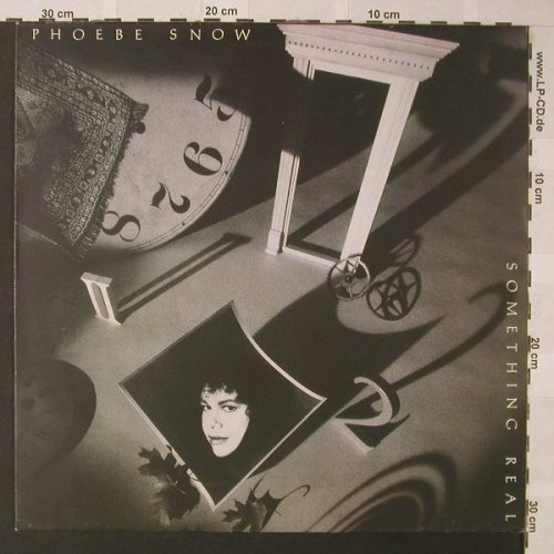 Snow,Phoebe: Something Real, Elektra(960 852-1), D, 1989 - LP - F375 - 5,50 Euro