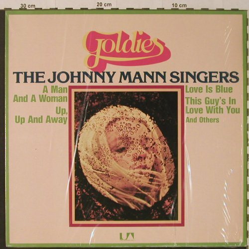 Mann Singers,Johnny: Goldies, Liberty(UAS 30 056 XAT), D,  - LP - F4235 - 7,50 Euro