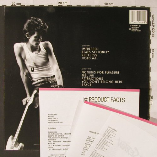 Sexton,Charly: Pictures For Pleasure, MCA(252 656-1), D, 1985 - LP - F431 - 5,00 Euro
