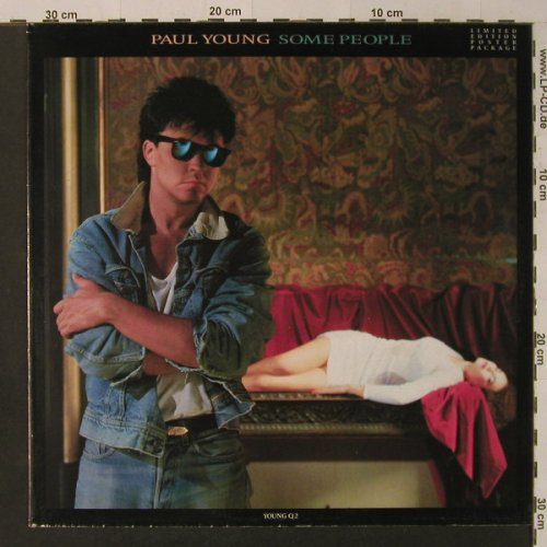 Young,Paul: Some People*2+1,Postercover, CBS(young Q2), NL, 1986 - 12inch - F4359 - 4,00 Euro