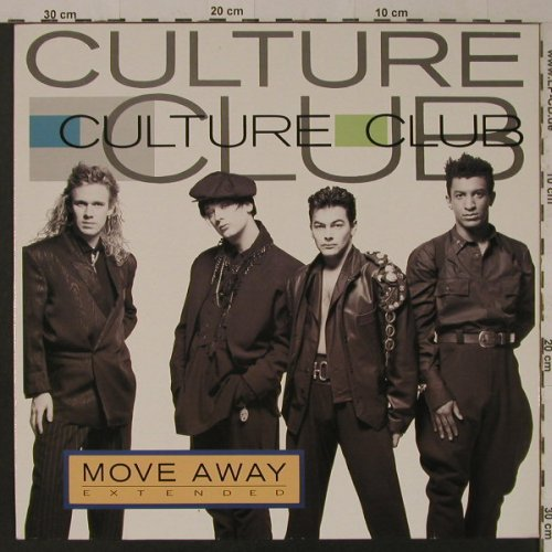 Culture Club: Move Away+1, Virgin(608 046-213), D, 1986 - 12inch - F5203 - 2,50 Euro