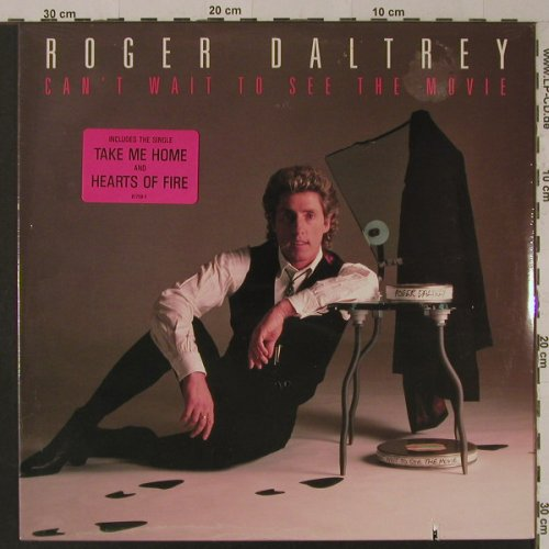 Daltrey,Roger: Can't Wait To See The Movie, FS-New, Atlantic(81759-1), US, co, 1987 - LP - F5231 - 6,00 Euro
