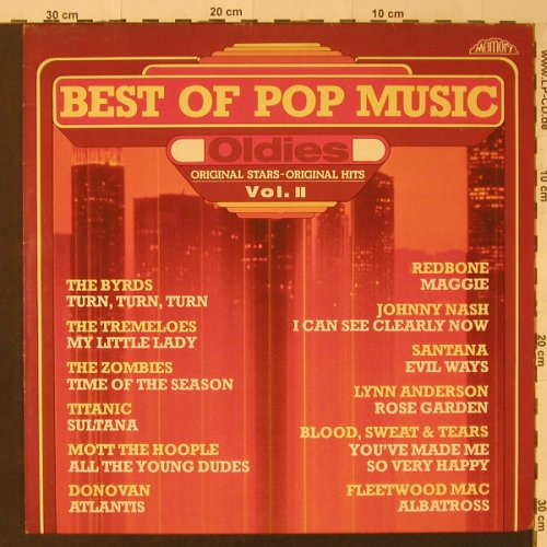 V.A.Best Of Pop Music/Oldies Vol.II: 12 Tr., Memory(296 993-245), D, 1981 - LP - F5405 - 4,00 Euro