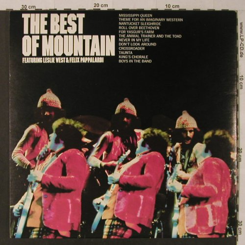 Mountain: The Best Of,Foc, Columbia(KC 32079), US,Ri, 1973 - LP - F5531 - 12,50 Euro