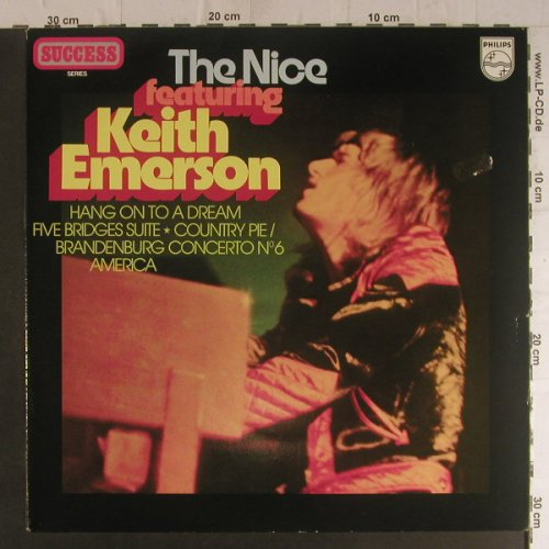 Nice: featuring Keith Emerson, m-/vg+, Philips (Success)(9279 525), NL, Ri,  - LP - F5967 - 5,00 Euro
