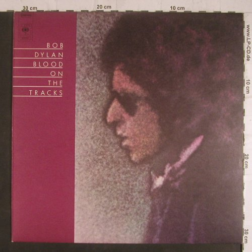 Dylan,Bob: Blood On The Tracks(ONLY Cover), CBS(69 097), NL, 1975 - Cover - F6264 - 2,00 Euro