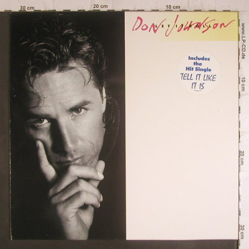 Johnson,Don: Let it Roll, Epic(460857 1), NL, 1989 - LP - F6369 - 4,00 Euro