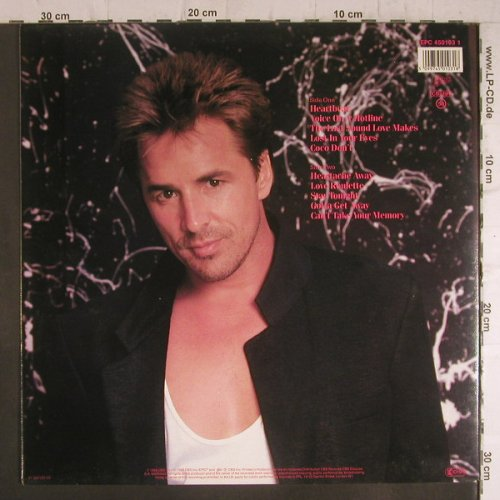 Johnson,Don: Heart Beat, Foc, Epic(450103 1), NL, 1986 - LP - F6370 - 4,00 Euro