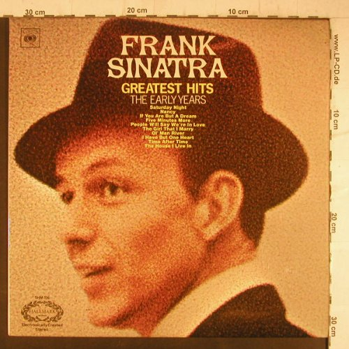 Sinatra,Frank: Greatest Hits-The Early Years, Hallmark/CBS(SHM 736), UK,  - LP - F6501 - 5,00 Euro