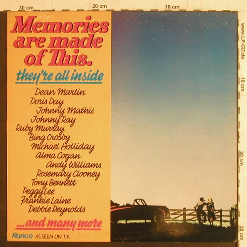 V.A.Memories are made of This: They're all inside...and many more, Ronco(RTL 2062), UK, 1981 - LP - F6588 - 4,00 Euro