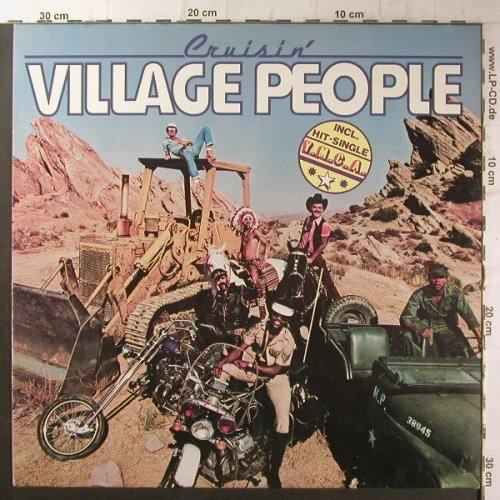 Village People: Cruisin', Metronome(0060.170), D, 1978 - LP - F6622 - 4,00 Euro