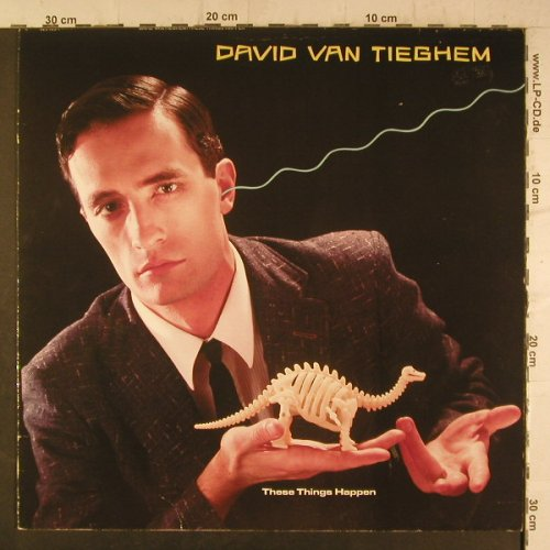 Van Tieghem,David: These Things Happen, WB(925 105-1), D, 1984 - LP - F6746 - 7,50 Euro
