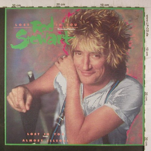 Stewart,Rod: Lost In You*2+1, ext.remix, WB(920 947-0), D, 1988 - 12inch - F6767 - 3,00 Euro