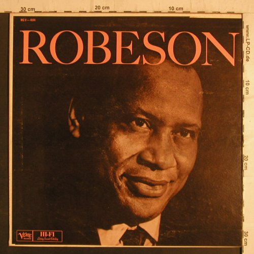 Robeson,Paul: Same, vg+/m-, Verve(MG V-4044), US,  - LP - F6931 - 5,00 Euro