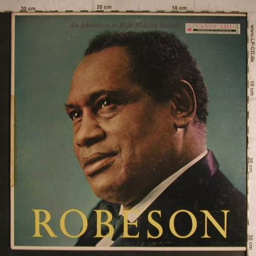 Robeson,Paul: Same, with Chorus and Orch., Vanguard(VRS-9037), US,m-/ toc,  - LP - F7159 - 5,00 Euro