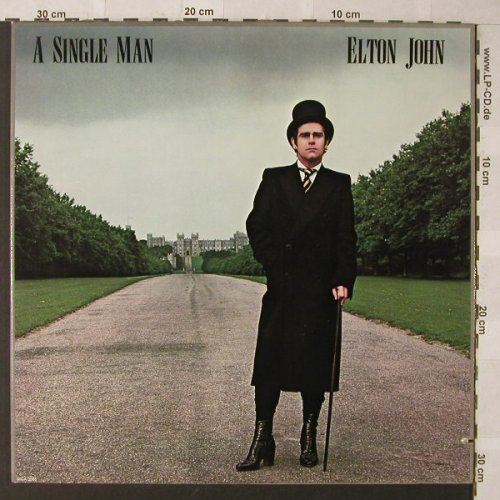 John,Elton: A Single Man, Foc, co, MCA(MCA-3065), US, 1978 - LP - F718 - 5,00 Euro