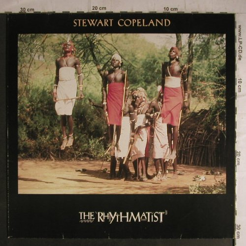 Copeland,Stewart: The Rhythmatist (Pogo-Cover), AM(395 084-1), D, 1985 - LP - F7221 - 6,00 Euro