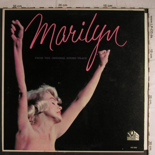 Monroe,Marylin: Marilyn, from Orig.Sound Track, 20th Century Fox(FXG 5000), US,stoc,  - LP - F7266 - 20,00 Euro