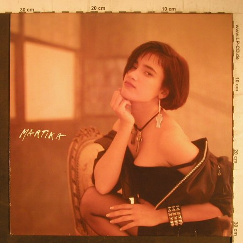 Martika: Same (Chair Cover), CBS(463355 1), NL, 1988 - LP - F7571 - 5,00 Euro