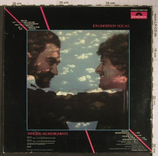 Jon and Vangelis: Short Stories, m /vg+, Polydor(2383 565), D, 1980 - LP - F7717 - 4,00 Euro