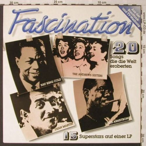 V.A.Fascination: Nat King Cole...Anthony Quinn, Capitol(C 070-33 239), D, 20 Tr., 1979 - LP - F896 - 4,00 Euro