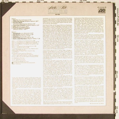 Crosby,Stills,Nash & Young/J.Tilson: So Far, Foc, No Poster (7), Atlantic(ATL 59 026), D, 1977 - LP - F9449 - 6,00 Euro