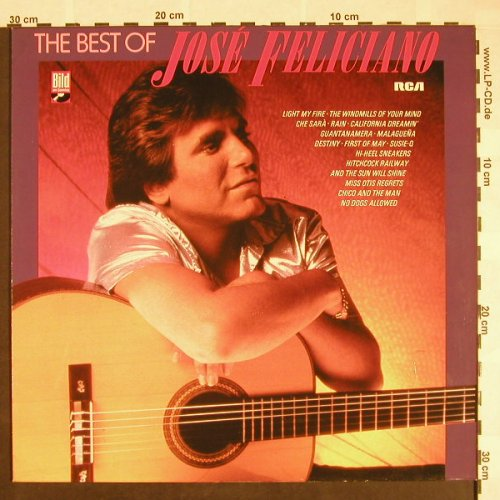 Feliciano,Jose: The Best Of, RCA(NL 89561), D, 1985 - LP - F9589 - 5,50 Euro
