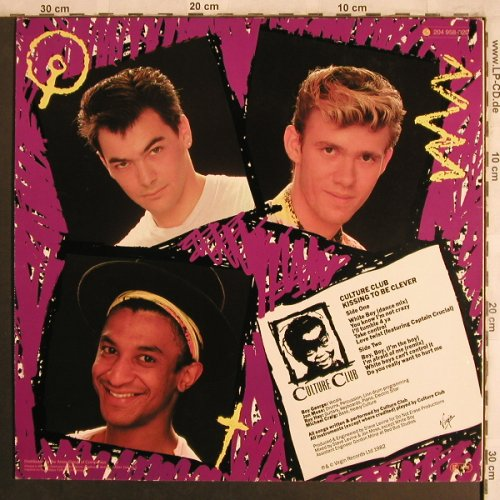 Culture Club: Kissing To Be Clever, Virgin(204 958-320), D, 1982 - LP - F9596 - 5,00 Euro