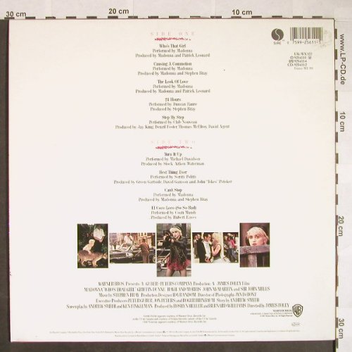 Madonna: Who's That Girl, WB(925 611-1), D, 1987 - LP - F9835 - 5,00 Euro