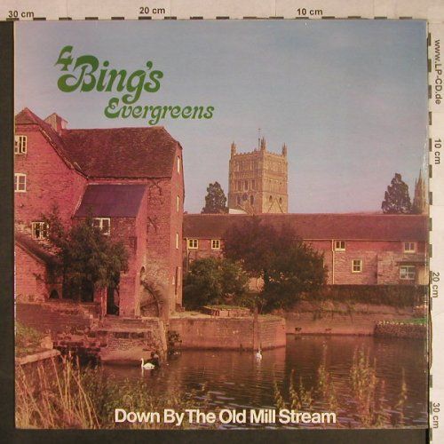 Crosby,Bing: 4 Bing's Evergreens, Very Best of, World Records Ltd.(SM 294), UK,m-/vg+,  - LP - H1097 - 5,00 Euro