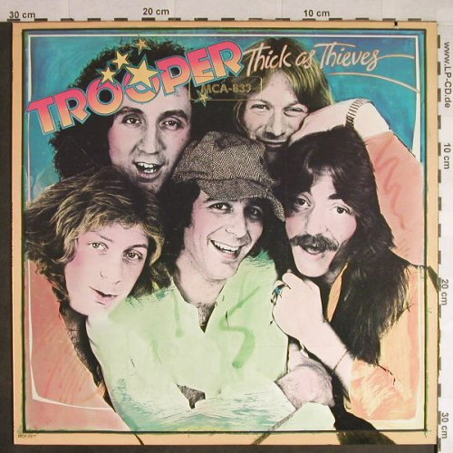 Trooper: Thick As Thieves, MCA(MCA-2377), US, co, 1978 - LP - H117 - 9,00 Euro
