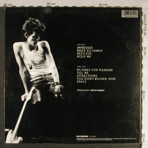 Sexton,Charlie: Debut Album, MCA(5629), US, co, 1985 - LP - H1525 - 6,00 Euro