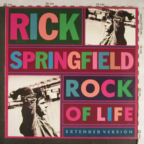 Springfield,Rick: Rock Of Life*2+1, RCA(PT 49606), D, 1988 - 12inch - H1527 - 2,50 Euro