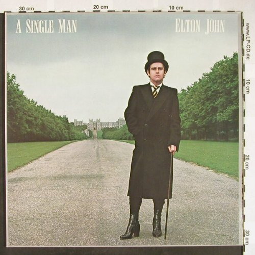 John,Elton: A Single Man, Foc, Rocket(9103 500), D, 1978 - LP - H1830 - 5,00 Euro