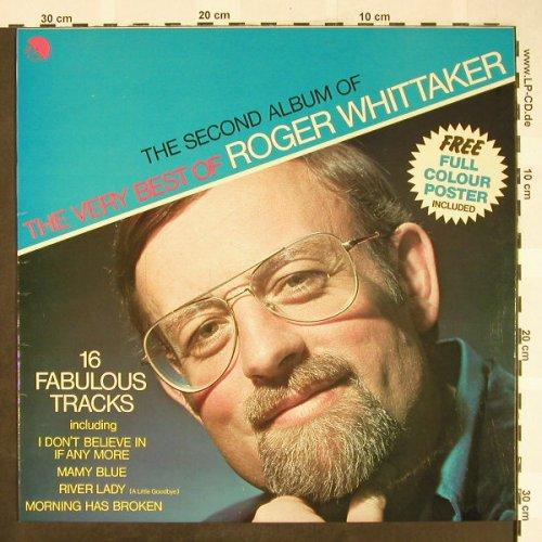 Whittaker,Roger: Second Album Of The Very Best, EMI,NoPoster(EMC 3117), UK,  - LP - H1837 - 5,00 Euro