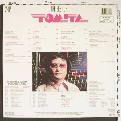 Tomita: The Best of, Foc, RCA(NL89451(2)), D, 1982 - 2LP - H1866 - 7,50 Euro