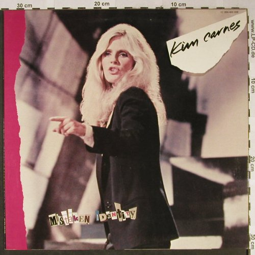 Carnes,Kim: Mistaken Identity (Stage Cover), EMI(064-400 008), NL, 1981 - LP - H2360 - 5,00 Euro