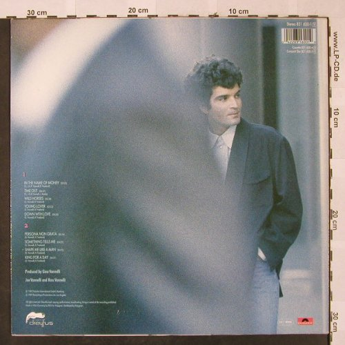Vannelli,Gino: Big Dreamers Never Sleep, Dreyfus/Polydor(831 600-1), D, 1987 - LP - H2521 - 4,00 Euro