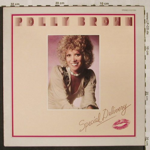 Brown,Polly: Special Delivery, GTO(2321 103), D, 1975 - LP - H2627 - 7,50 Euro