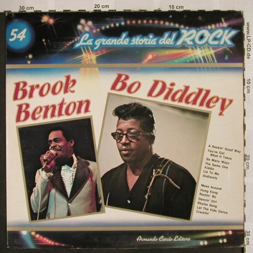 V.A.La Grande Storia Del Rock 54: Brook Benton, Do Diddley, Curcio(GSR-54), I, Foc,  - LP - H2683 - 5,00 Euro