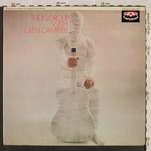 The In Group with Glen Campbell: Same, vg+/m-, Karussell, Ri(2350 003), D, 1968 - LP - H2789 - 9,00 Euro