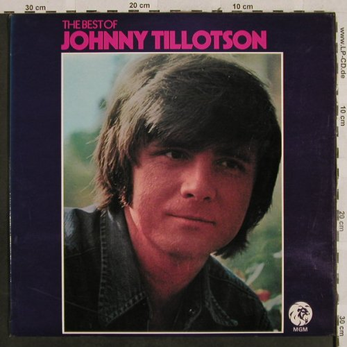 Tillotson,Johnny: The Best of, MGM(2353 064 SELECT), UK,  - LP - H2796 - 7,50 Euro